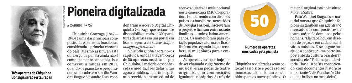 Pioneira digitalizada (Correio Brasiliense)