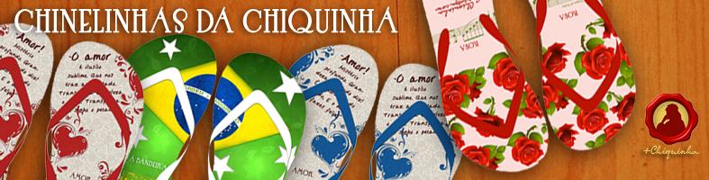 """""""Chinelinhas da Chiquinha"""" homenageia Dia das Mães, Namorados e Copa do Mundo"""