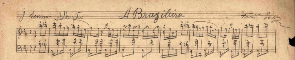 Partituras em manuscrito de Chiquinha Gonzaga agora podem ser consultadas online