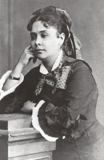 1877 - Chiquinha Gonzaga, 29 anos. Fonte: Chiquinha Gonzaga, uma história de vida, por Edinha Diniz, Editora Zahar, 2009.