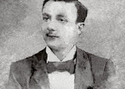 1899 - João Batista Lages, 16 anos. Fonte: Chiquinha Gonzaga, uma história de vida, por Edinha Diniz, Editora Zahar, 2009.