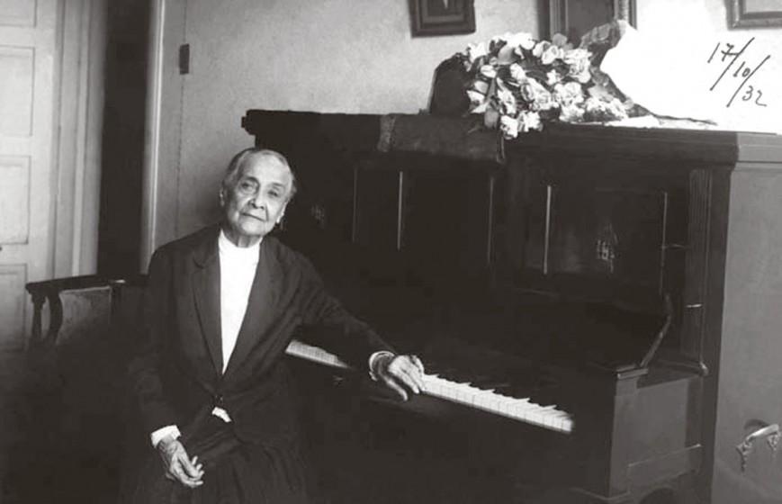 1932 - Chiquinha Gonzaga, 85 anos. Fonte: Chiquinha Gonzaga, uma história de vida, por Edinha Diniz, Editora Zahar, 2009.