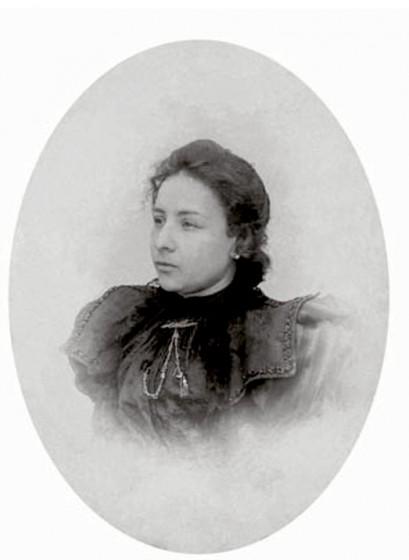 Alice, filha de Chiquinha Gonzaga. Fonte: Chiquinha Gonzaga, uma história de vida, por Edinha Diniz, Editora Zahar, 2009.