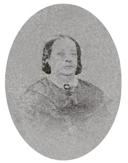 Rosa Maria de Lima, mae de Chiquinha Gonzaga. Fonte: Chiquinha Gonzaga, uma história de vida, por Edinha Diniz, Editora Zahar, 2009.