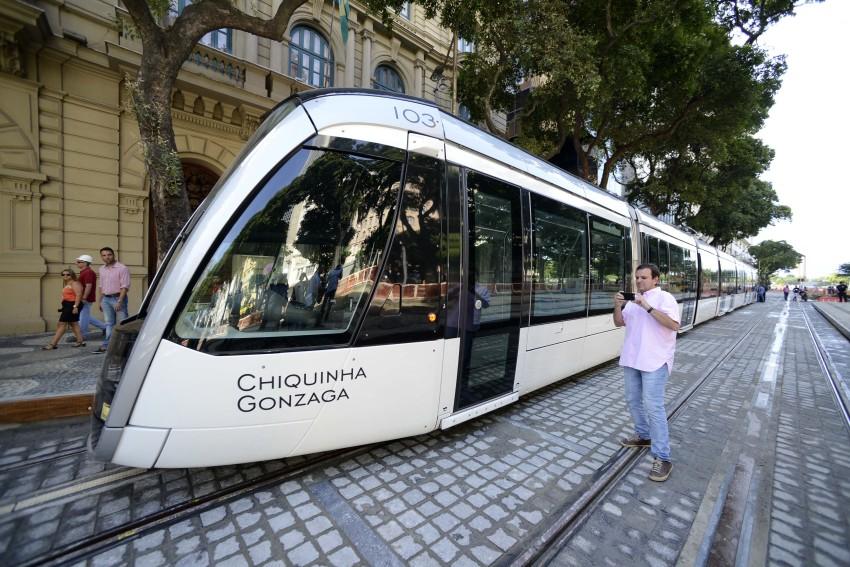 Chiquinha Gonzaga é homenageada em Projeto de veículos leves sobre trilhos na cidade do Rio de Janeiro